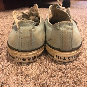 Old Sky Blue All Star Converse